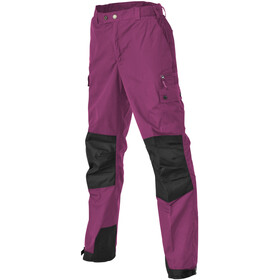 Pinewood Lappland Pants Kinder fuchsia/black